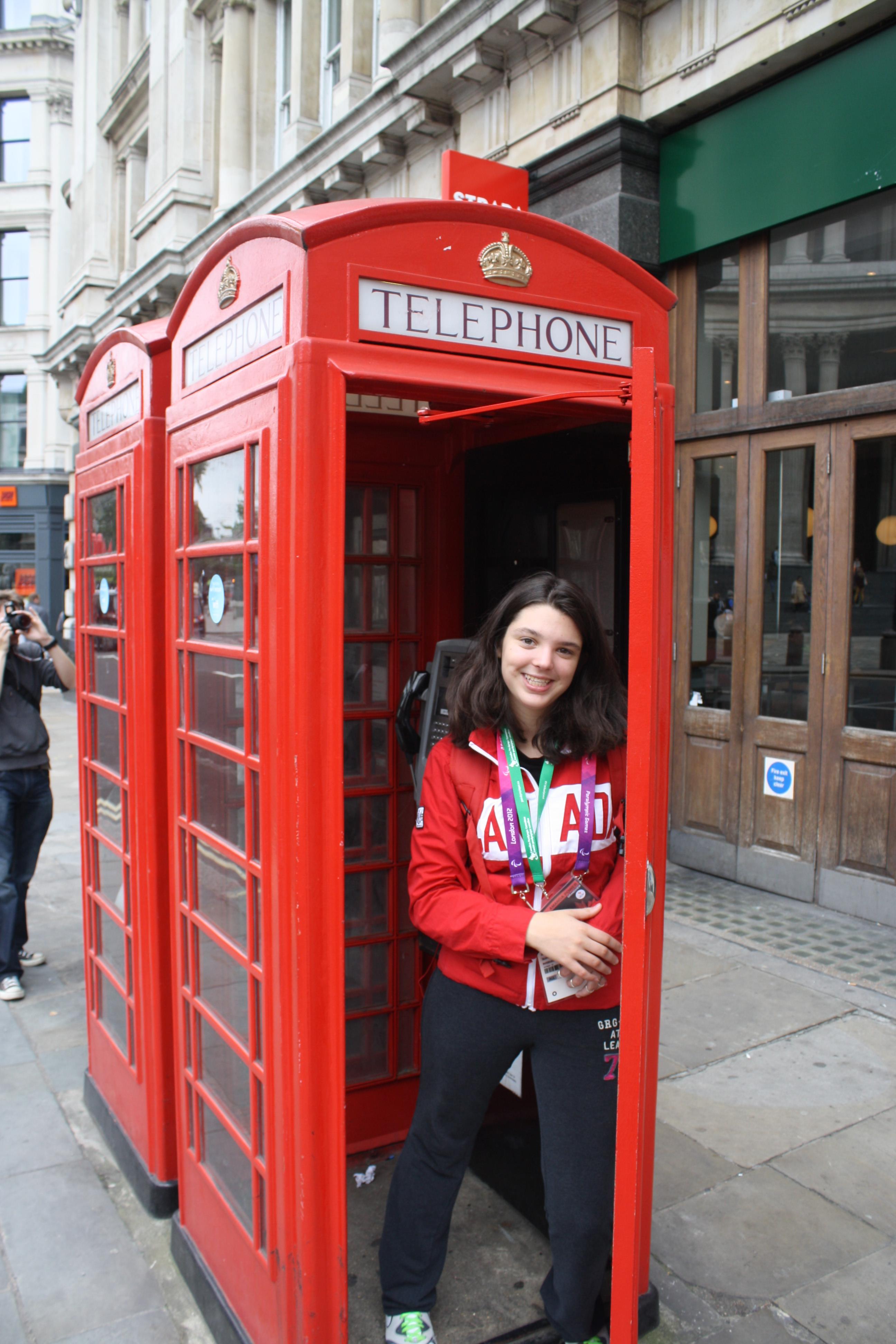 Amanda phone booth
