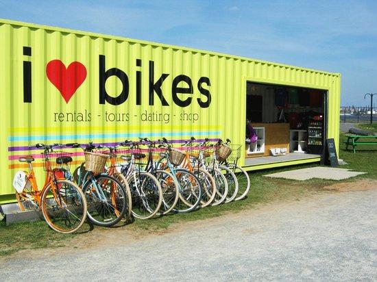 I Heart Bikes—10% off rentals