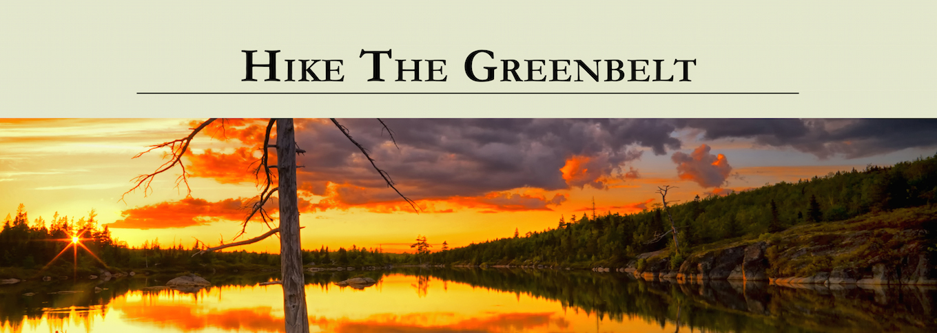 Hike the Greenbelt