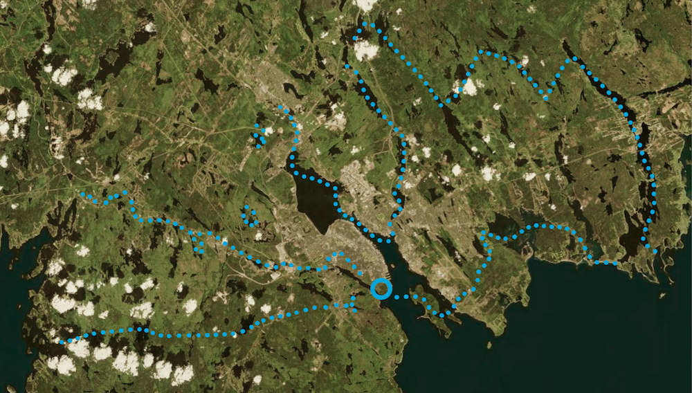 Hike the Greenbelt Events Map