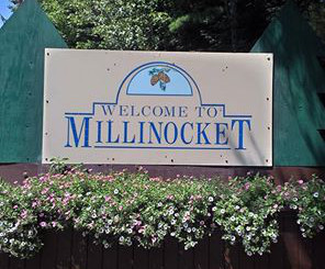 Millinocket Sign