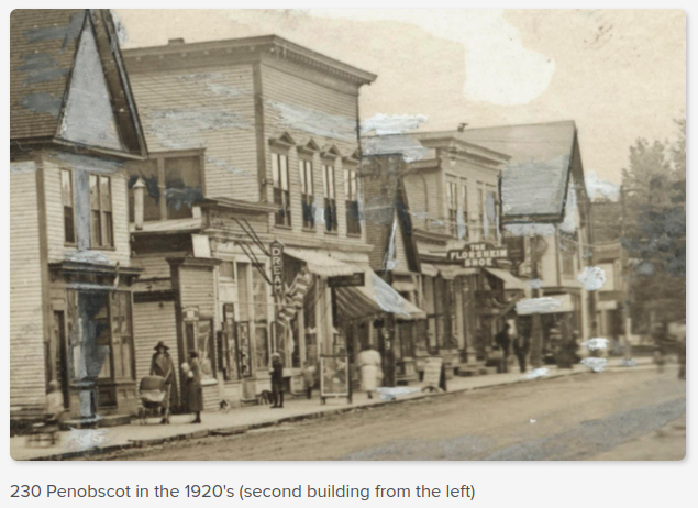230 Penobscot in the 1920's
