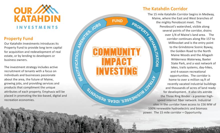 Our Katahdin Investments