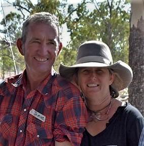 Garlon Moulin and Jamie Gordon, Mt Pleasant Nature Refuge Photo credit:Sheridan Calcott