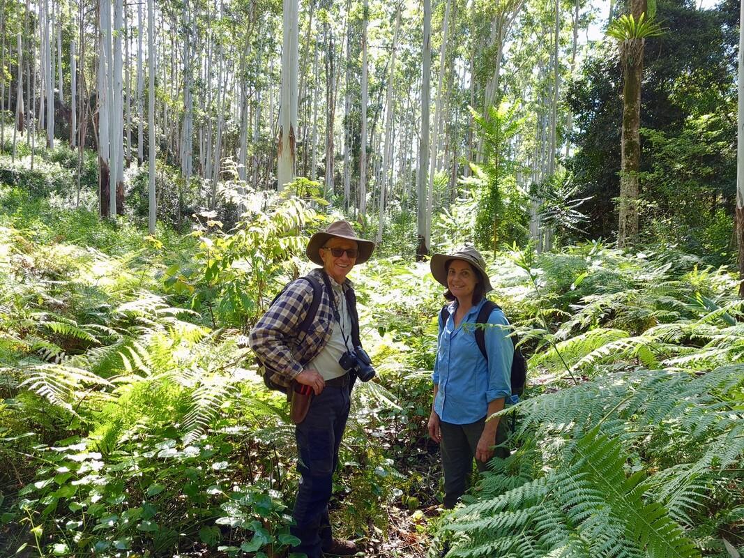 Wal Mayr and Heather Mayr, Blue Fig Nature Refuge