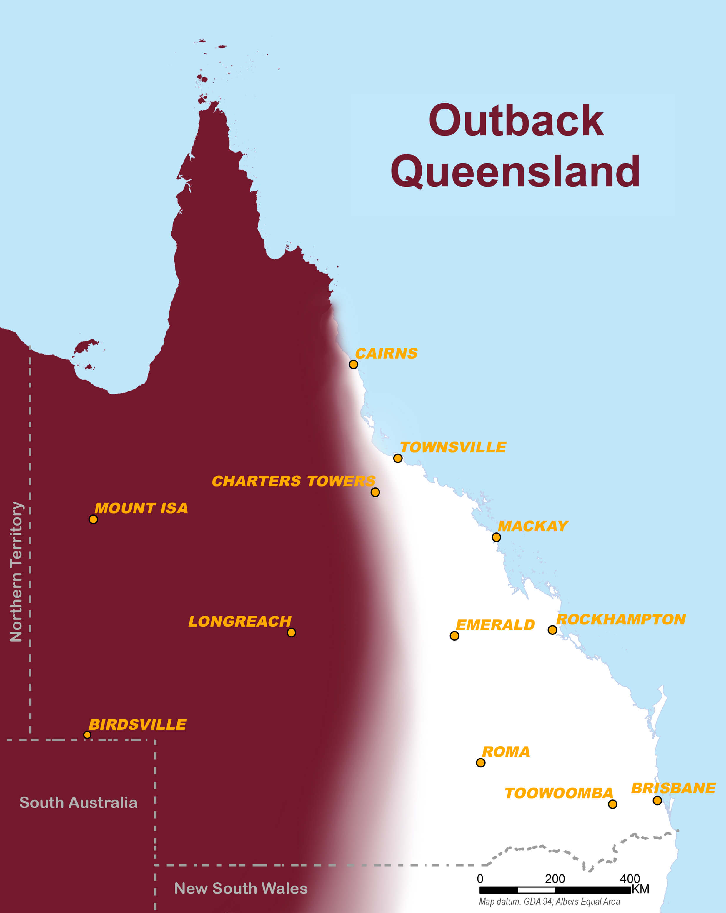OutbackQLD map