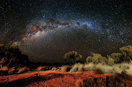 Night Sky, Outside of Winton by Steven Lippis
