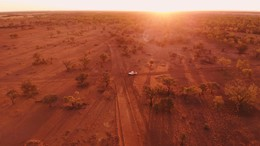 Cloncurry from above by Andreas Kastrup-Larsen