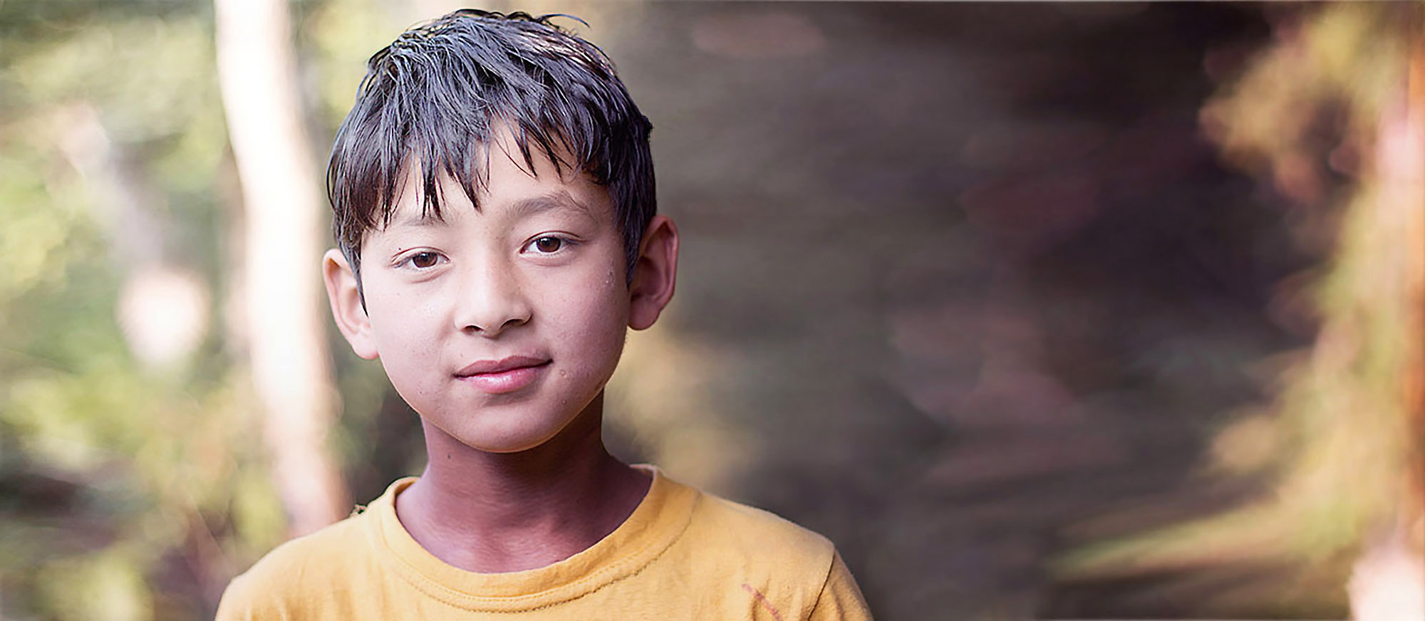 Happy child in Kalimpong