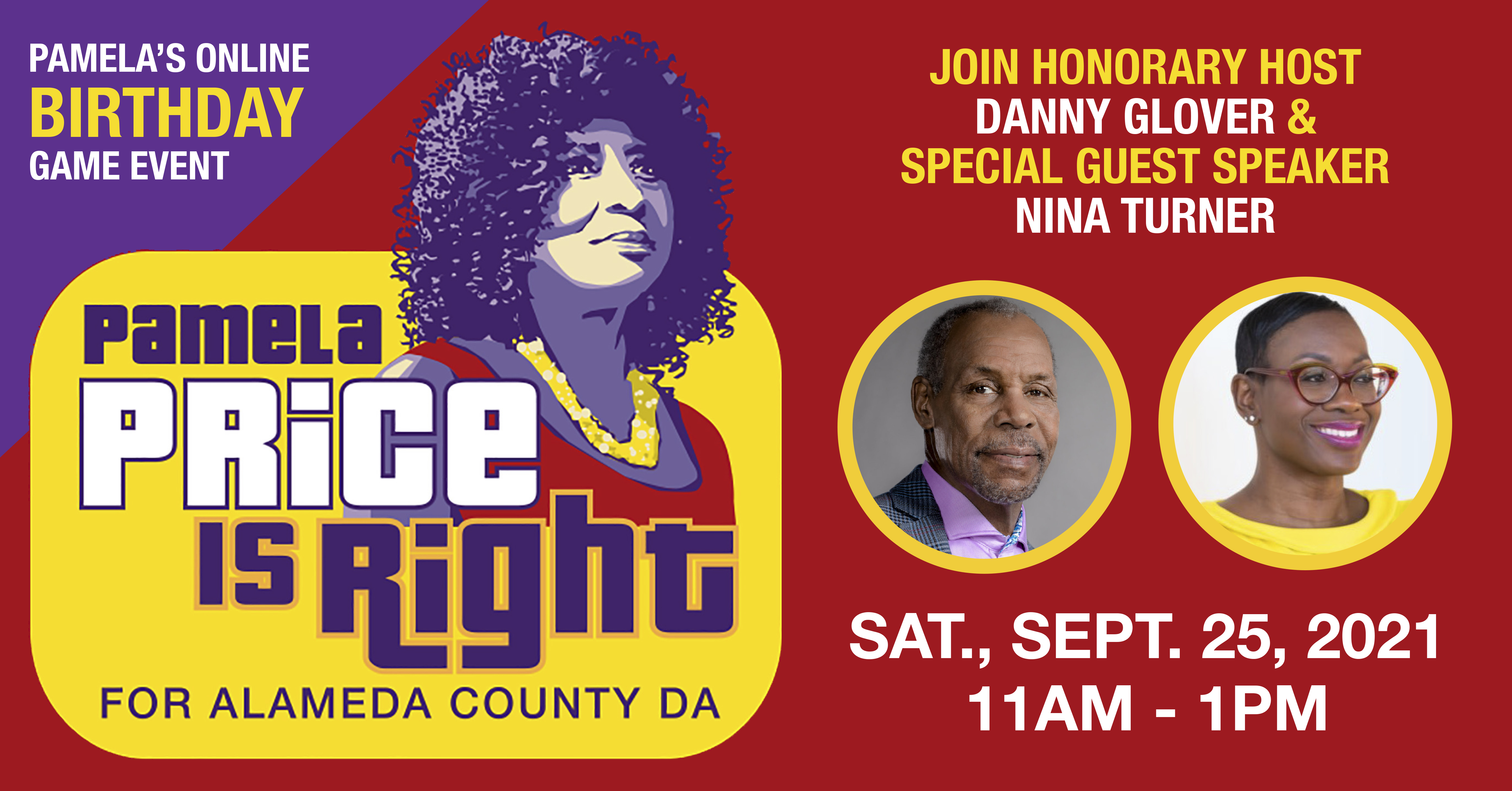 The Price Is Right Birthday with Danny Glover & Nina Turner