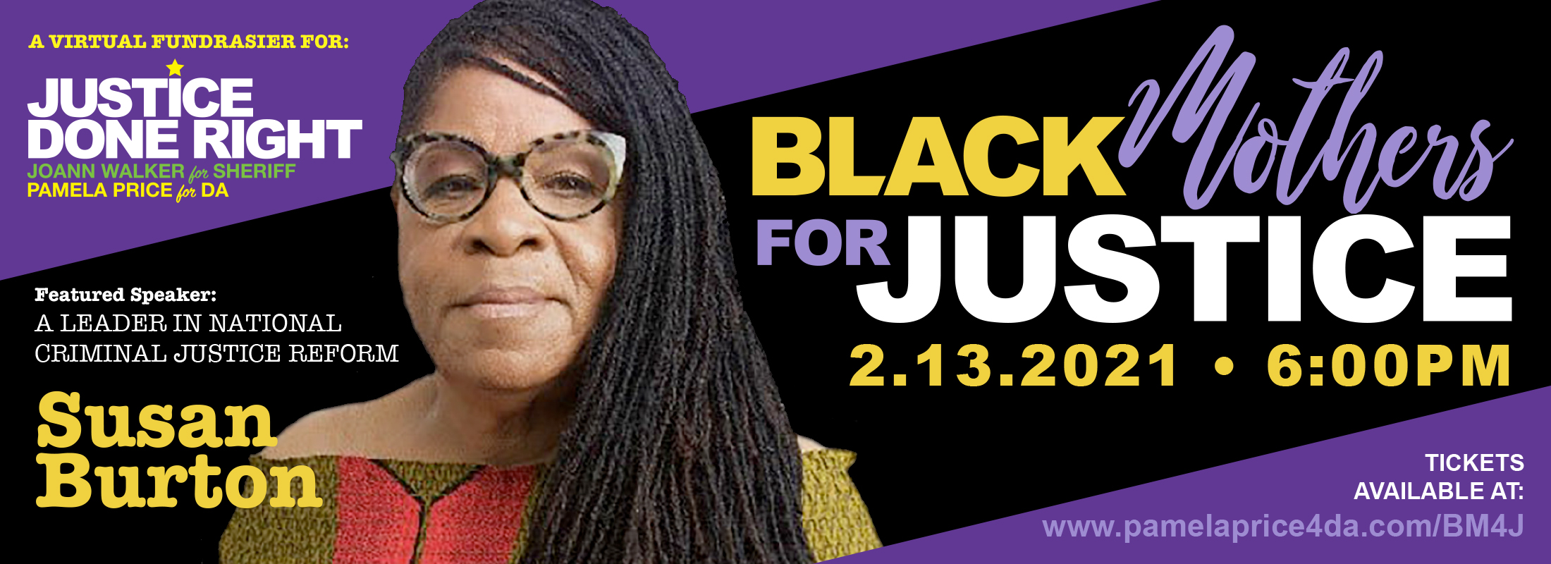 Black Mothers for Justice Banner