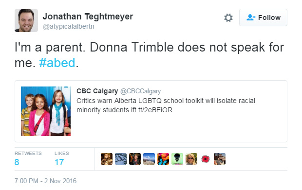 cbc-interview-donna-trimble-does-not-speak-for-me3611