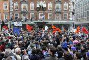 Demonstration 'March for the Alternative'in London, Great Britain on 26 March 2