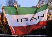 Demonstration in front of the Iranian Consulate in Frankfurt