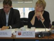 Linda McAvan, chairperson of the PES Environment and Climate Change network