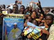 Guinean celebrate on December 3, 2010 in Conakry, after the Supreme Court valida