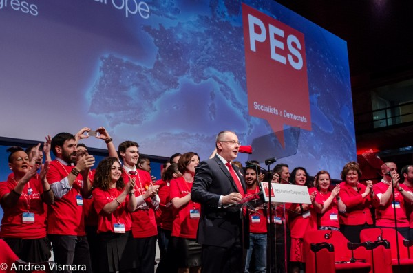 Sergei Stanishev at PES Election Congress