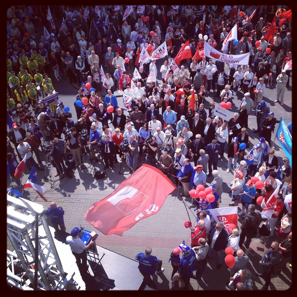 Labour Day Action in Poland Today