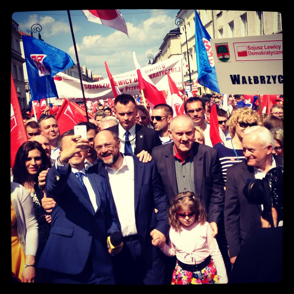 Labour Day in Warsaw