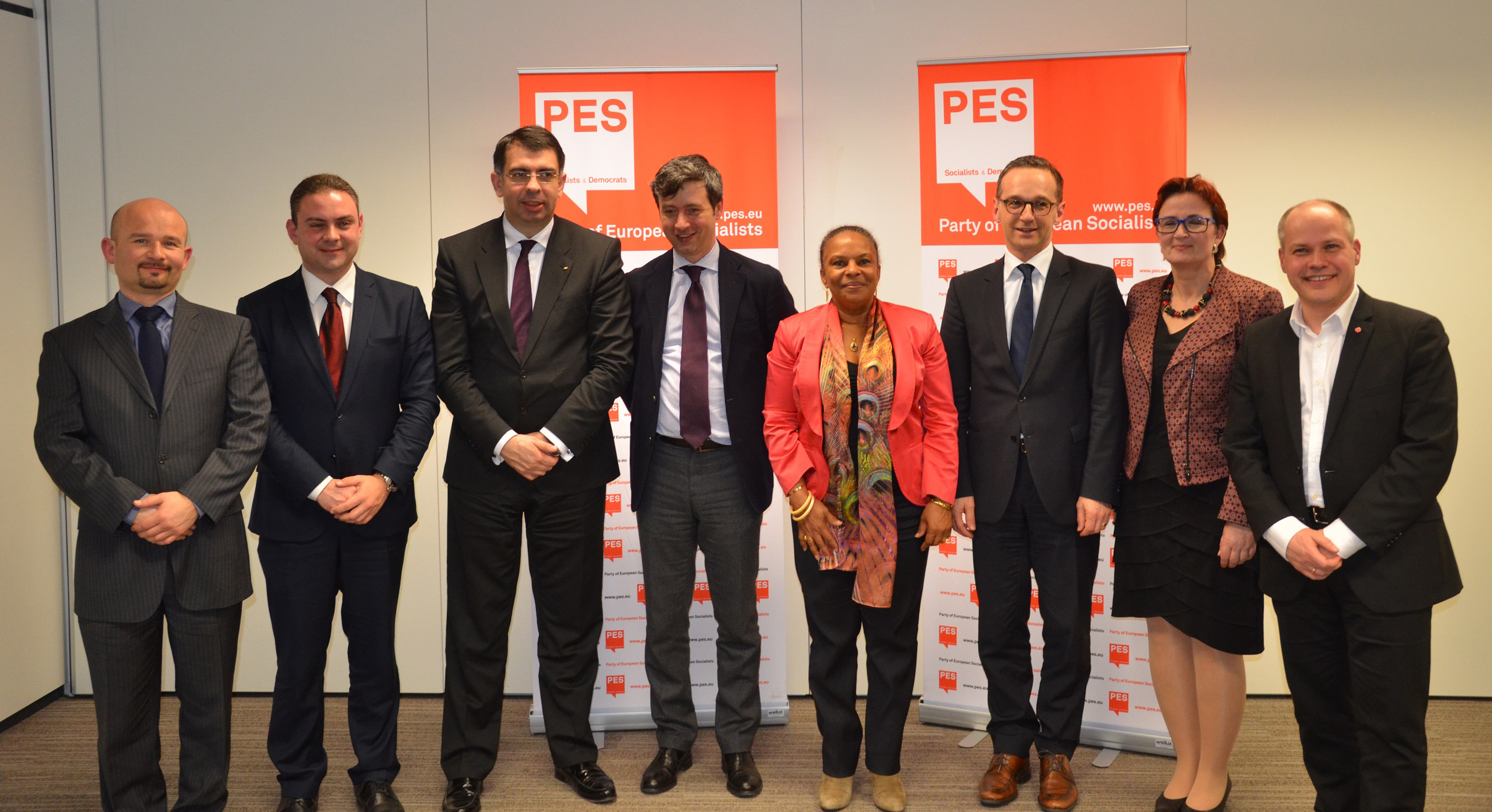 PES Justice and Home Affairs Ministers