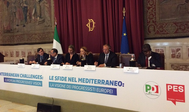 Mediterranean conference panelists