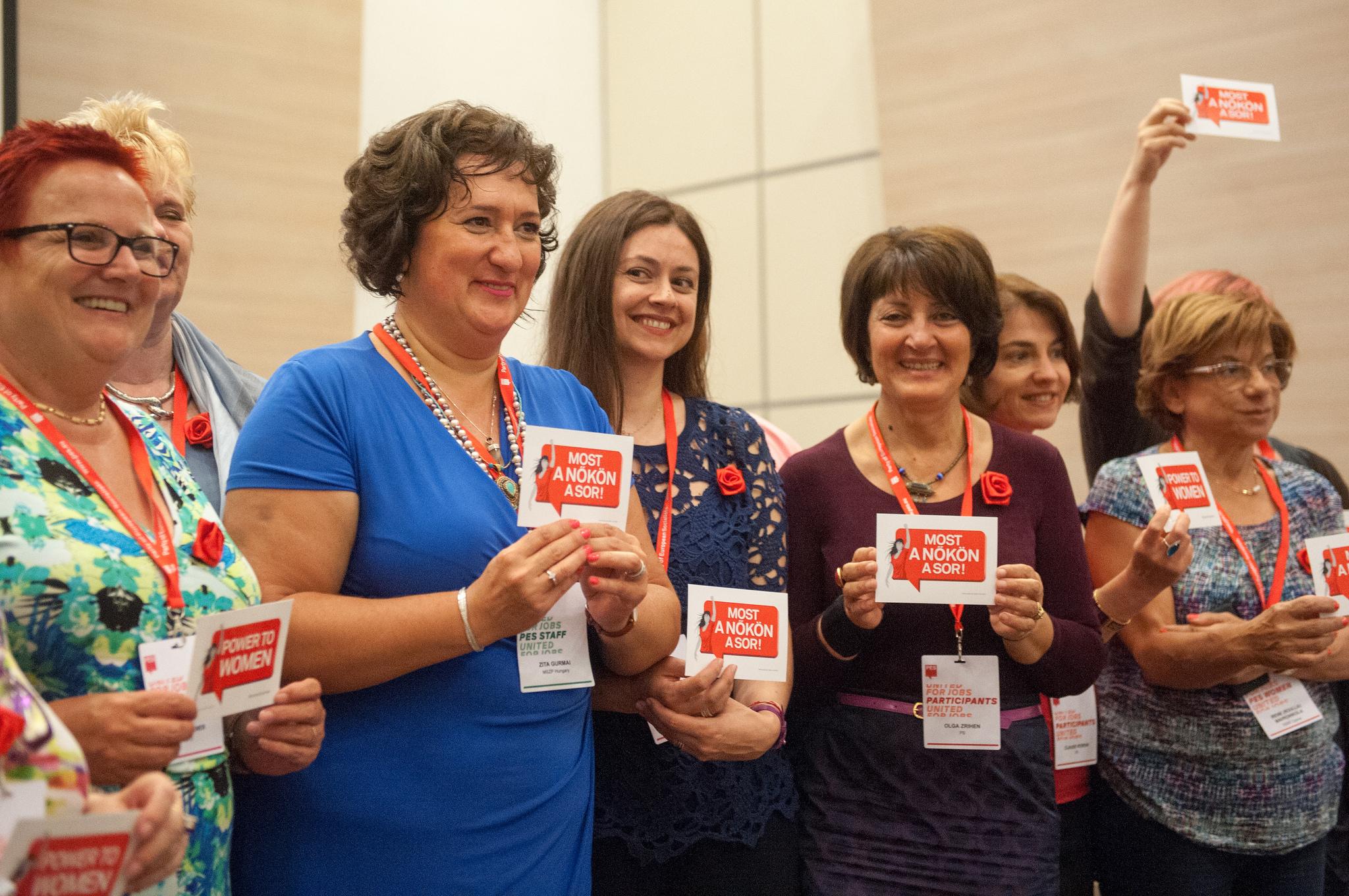 PES Women leadership