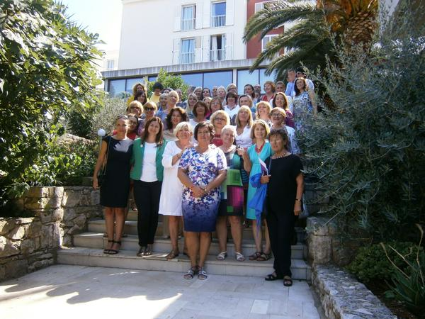 Korcula CEE gender school - group photo 2015