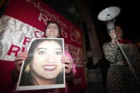 Protest over the death of Savita Halappanavar