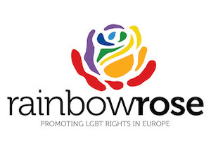 Logo Rainbow Rose