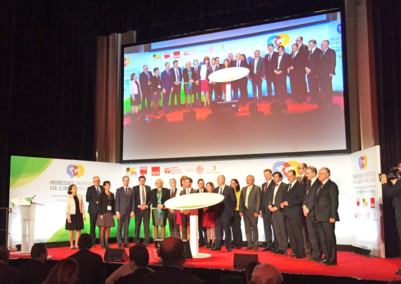 PES Leaders sign Progressive Declaration on Climate