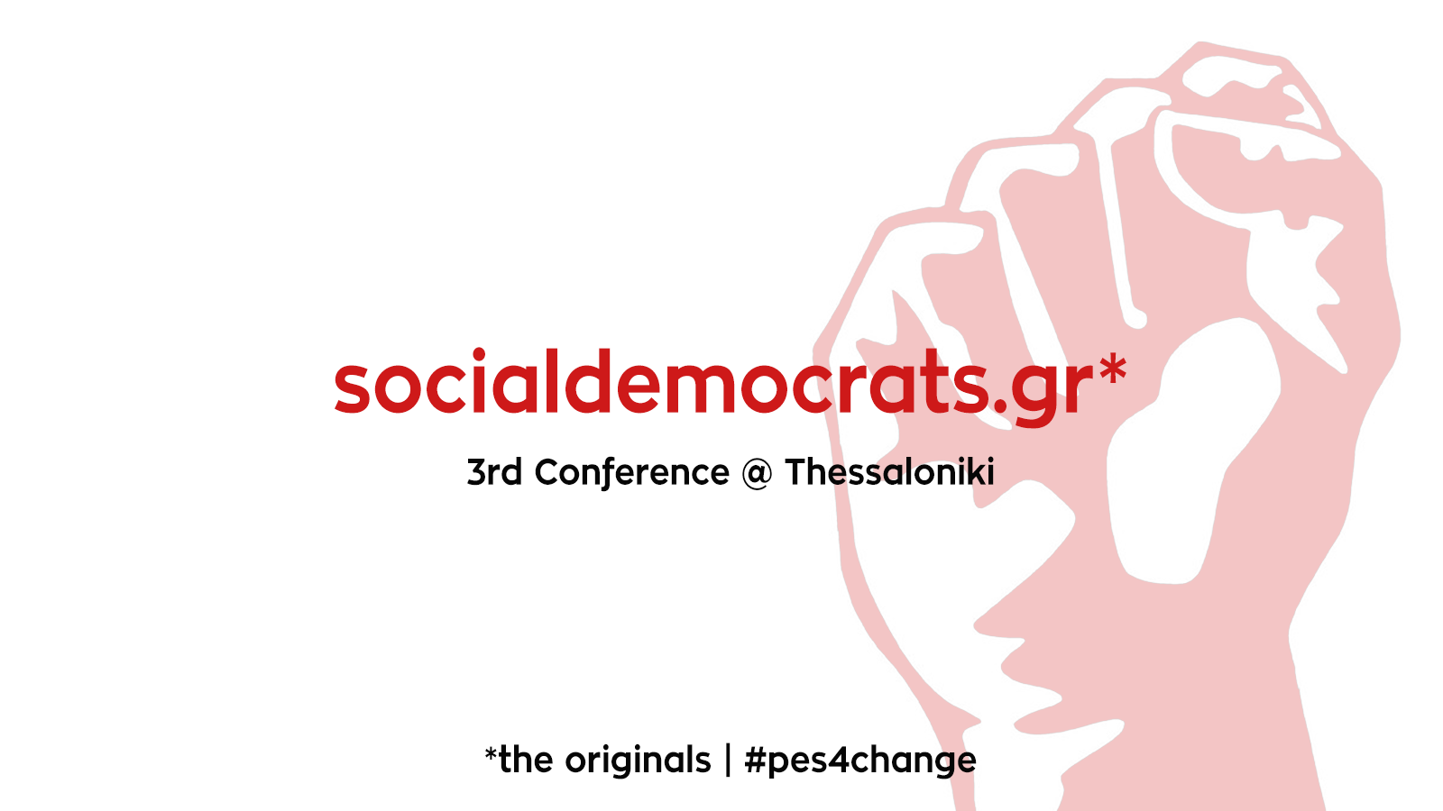 PES activists Greece conference
