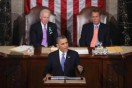 US President Barack Obama delivers his State of the Union speech