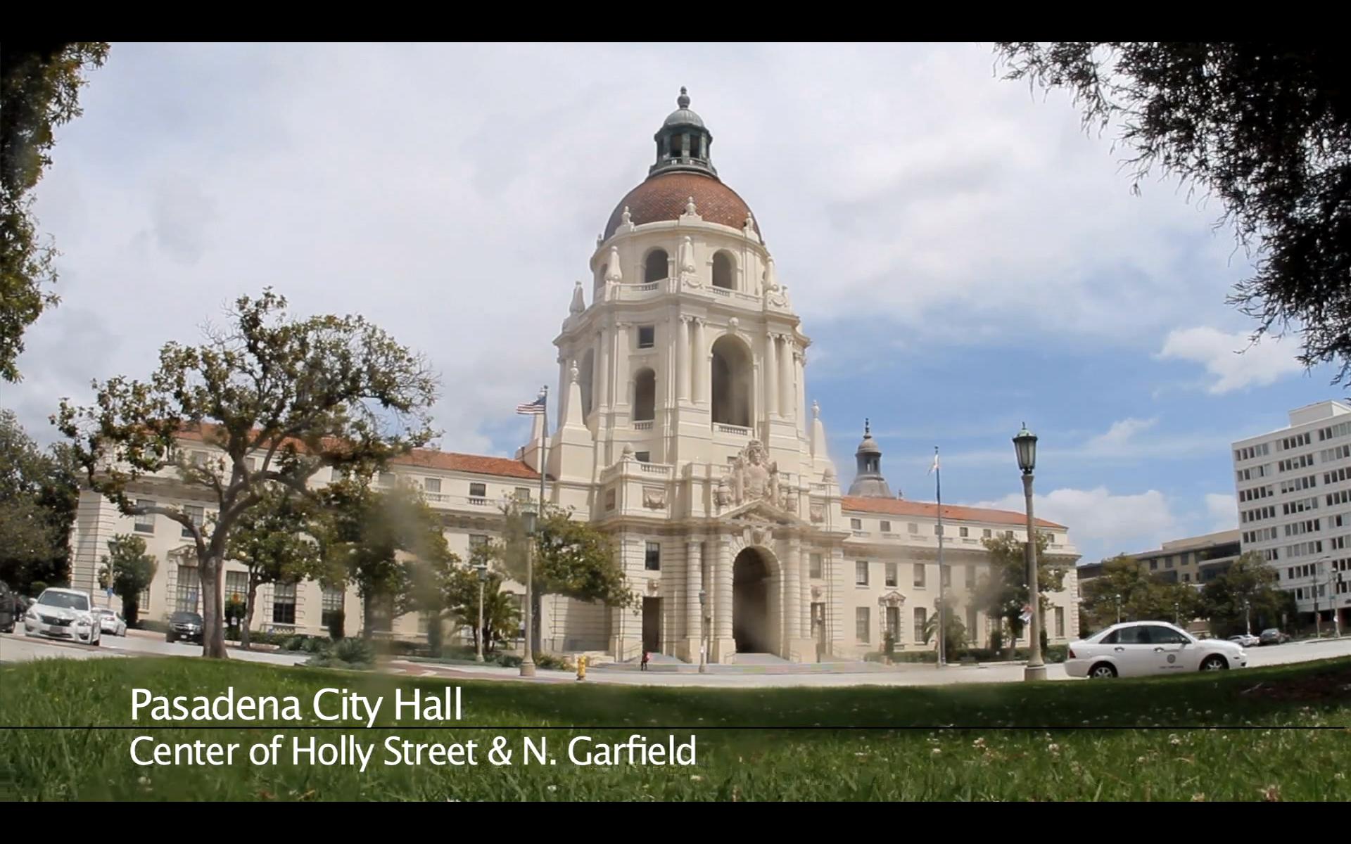 Pasadena Civic Center and City Hall