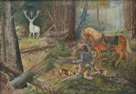 Royal deer hunt