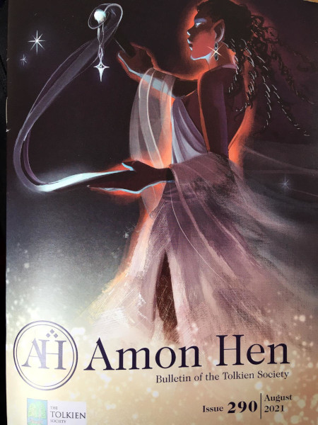 Front cover of Amon Hen August 2021