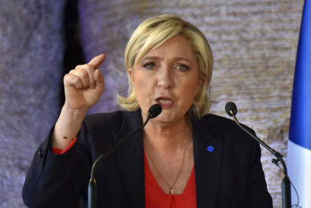 Marine Le Pen threatens globalists