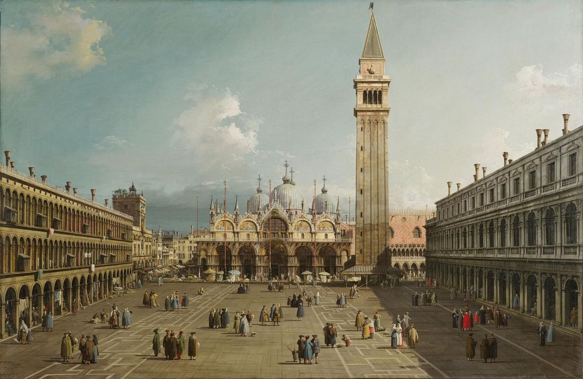 Piazza San Marco-Mid to late 1720s