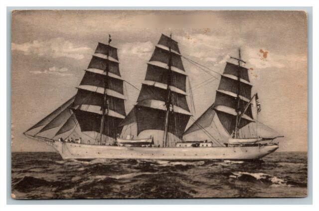 A three mast schooner