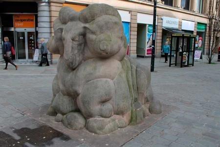 Derby Ram statue