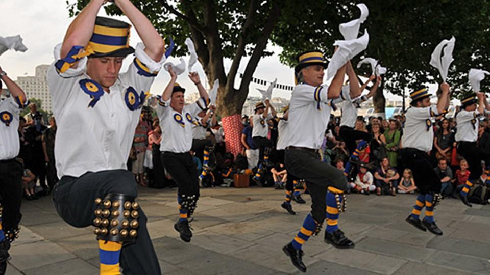 Cotswold Morris Dancing