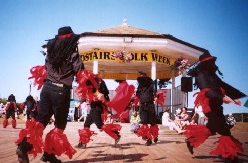 Flag & Bone Morris Dancing