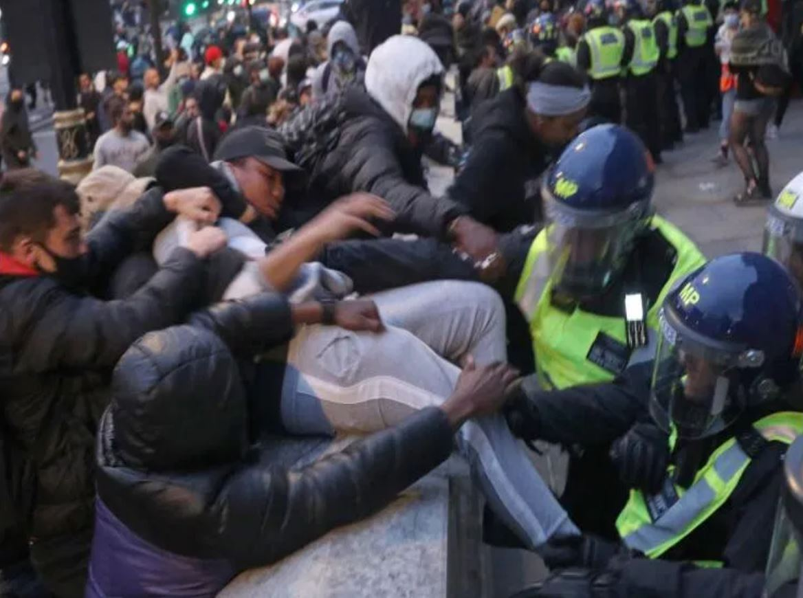 London Black Lives Matter Riots