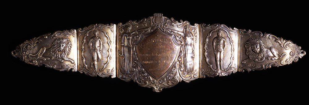 Dan Leno's Championship Belt