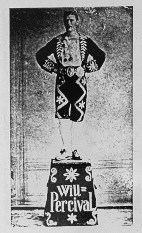 C19th Clog Dancer - Pedestal Routine