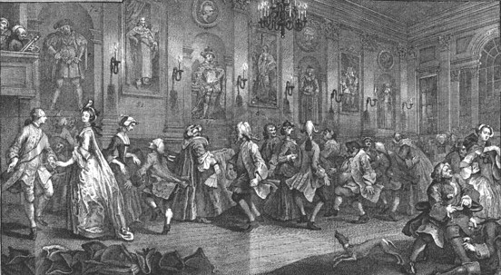 C18th Country Dancers Hogarth