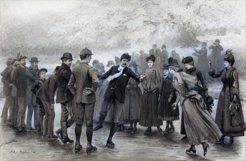 Sir Roger de Coverley on ice, Hopkins 1888