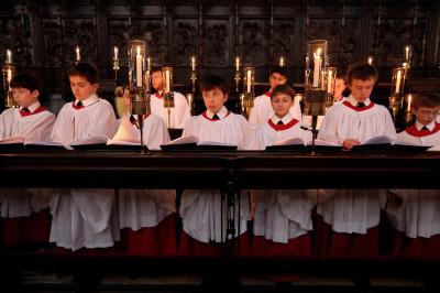 King's College Choir rehearsal