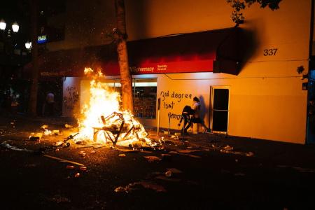 BLM riot in Portland