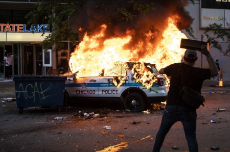 Another mostly peaceful BLM riot