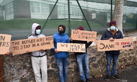 Migrants making demands